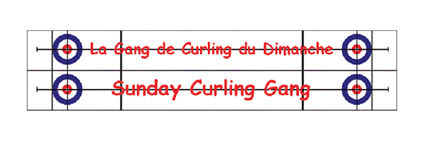 Sunday Curling Gang